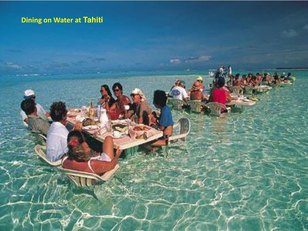 Dining on Water at
