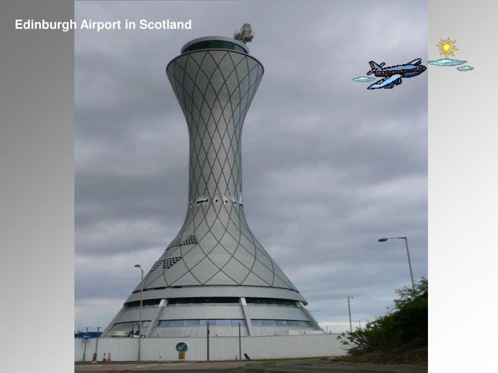 Edinburgh Airport in Scotland