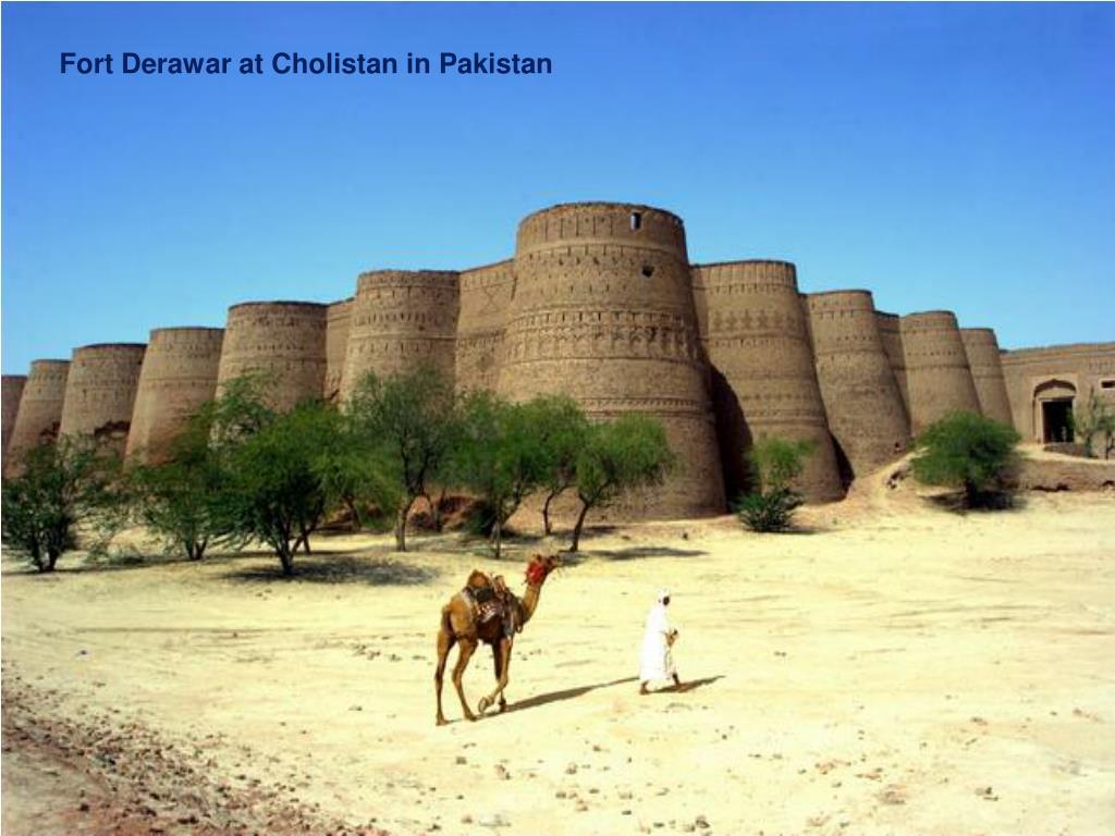 Fort Derawar at Cholistan in Pakistan