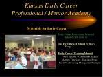 kansas early career professional mentor academy10