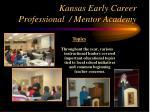 kansas early career professional mentor academy12