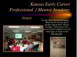 kansas early career professional mentor academy23