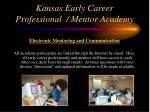 kansas early career professional mentor academy29