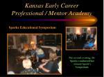 kansas early career professional mentor academy34