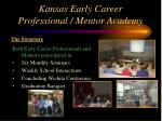 kansas early career professional mentor academy6