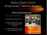 kansas early career professional mentor academy7