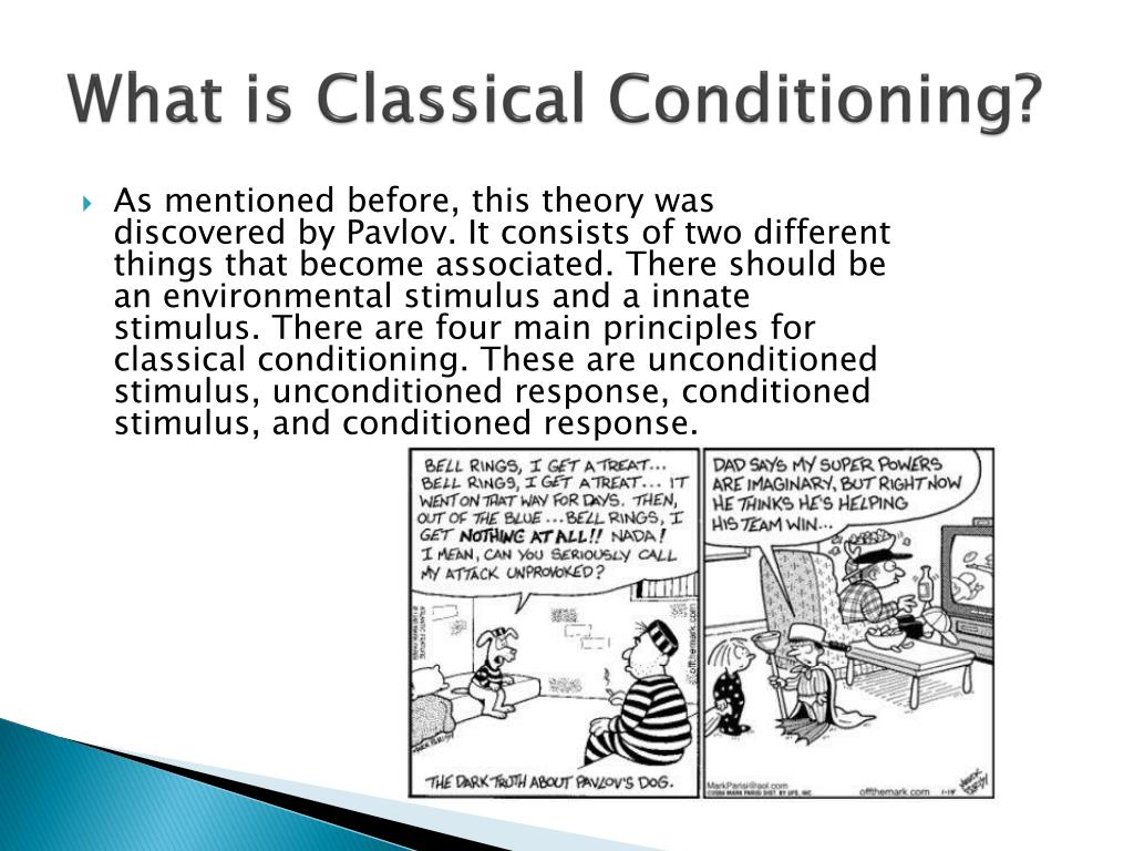 an analysis of classical conditioning discovered by ivan paslow