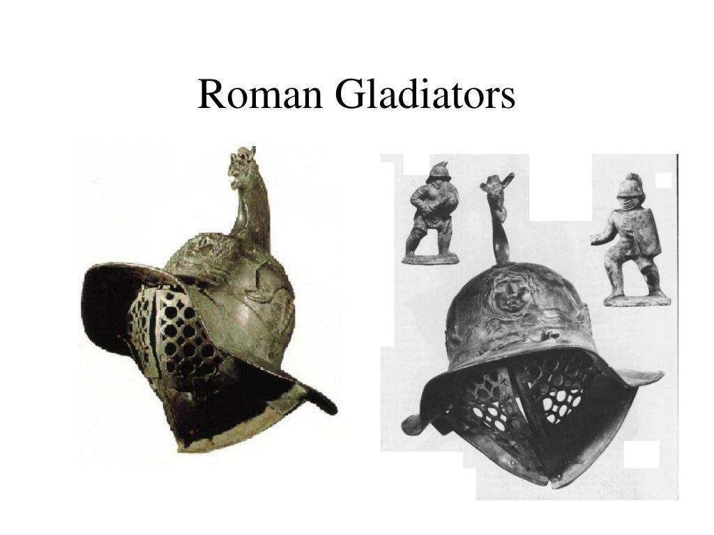 roman gladiators l.