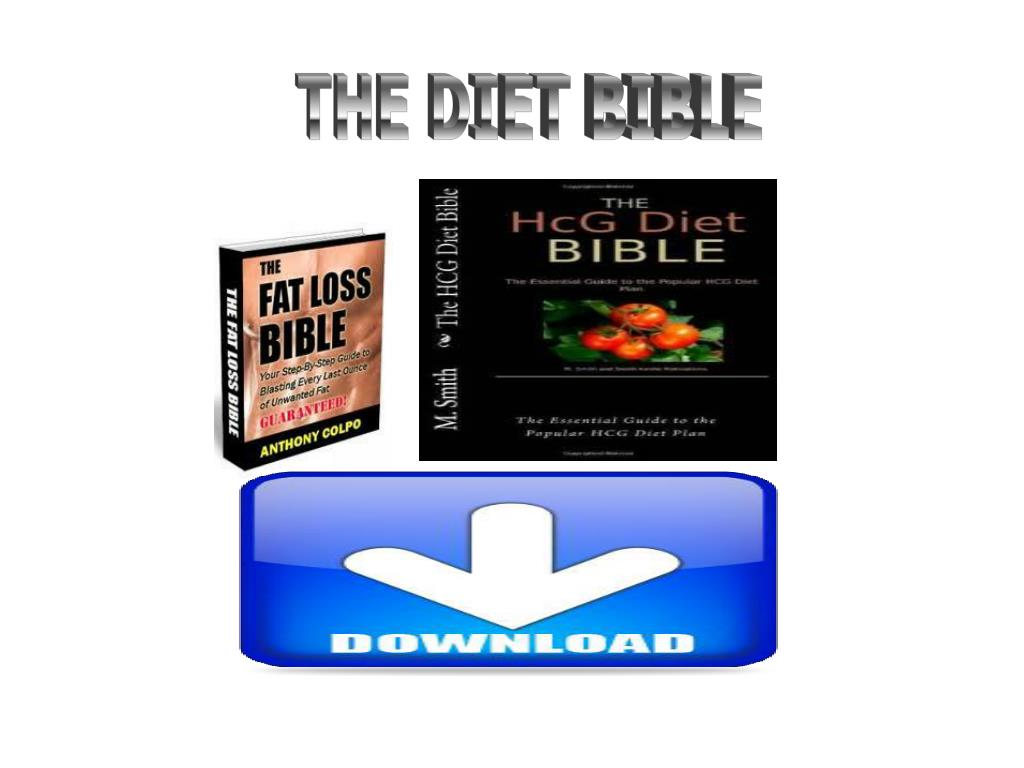 THE DIET BIBLE
