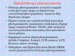 digital softcopy photogrammetry