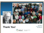 john maccoll maccollj@oclc org oclc research