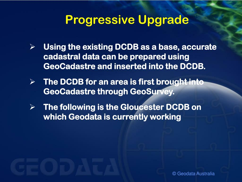 Progressive Upgrade