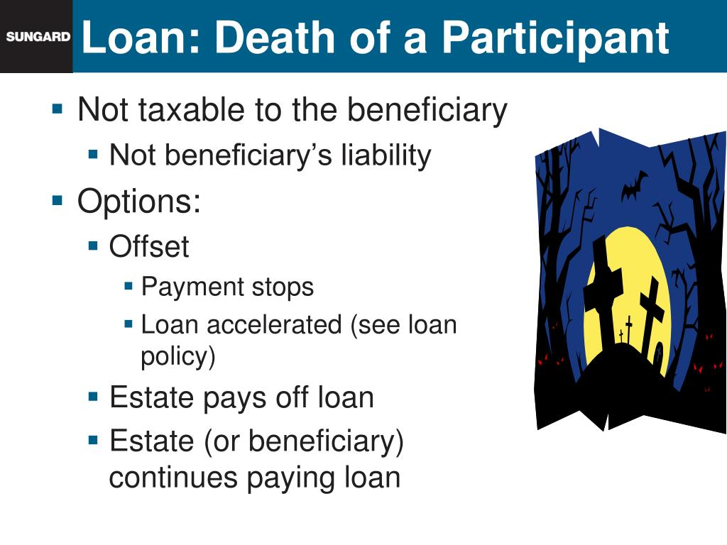 Loan: Death of a Participant