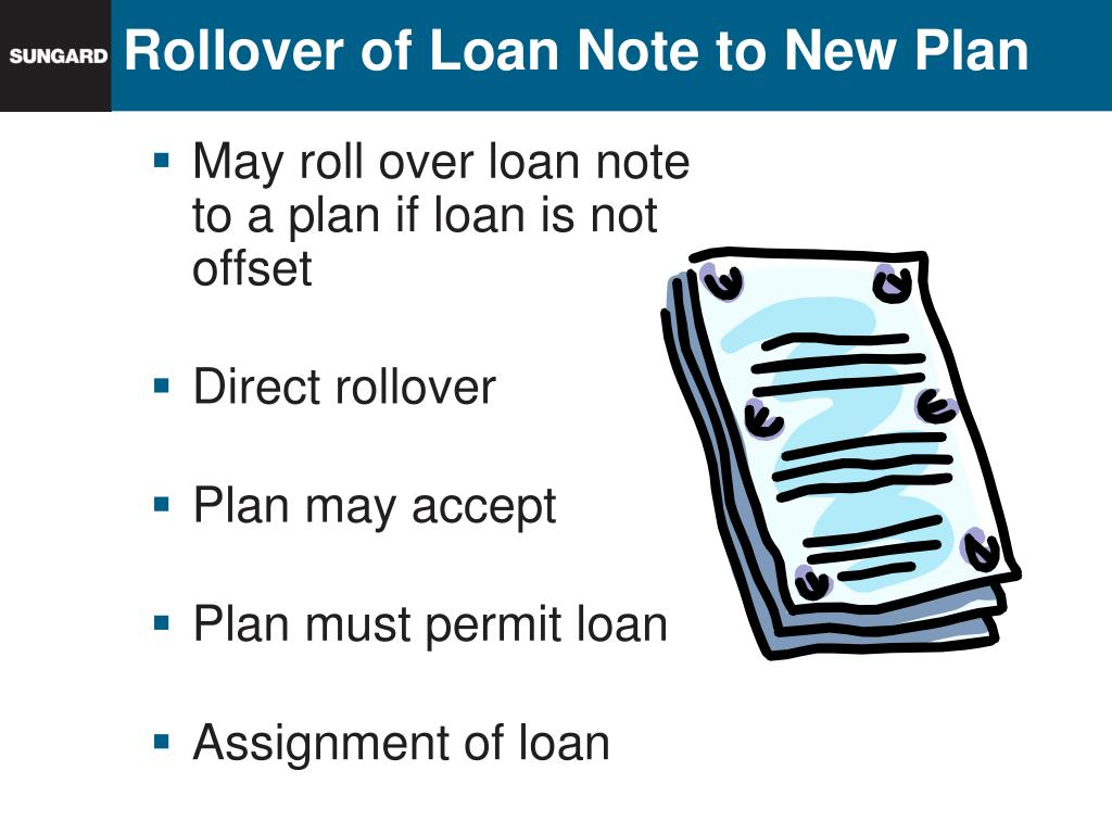 Rollover of Loan Note to New Plan