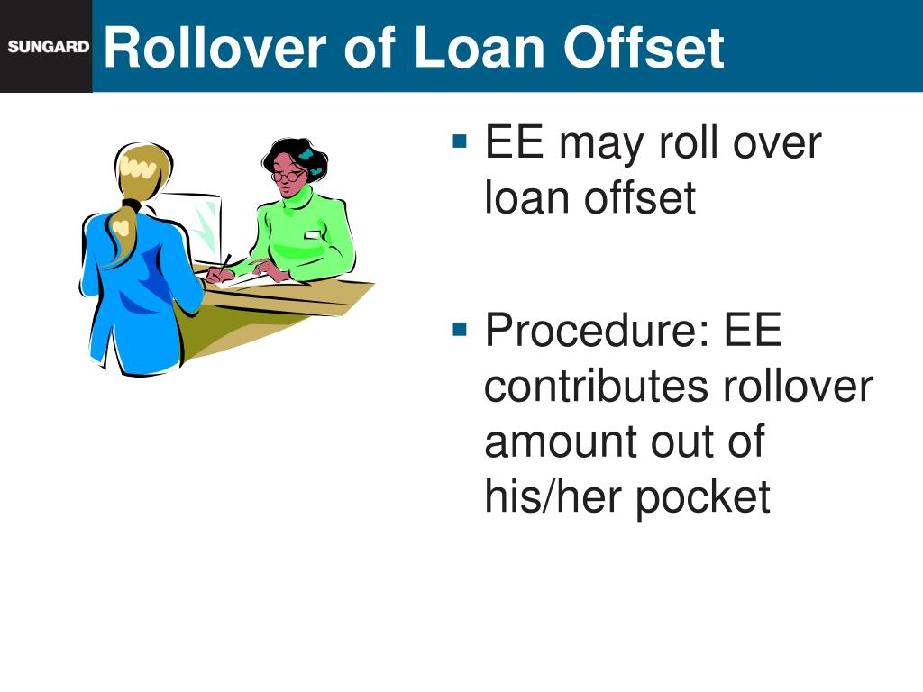 Rollover of Loan Offset