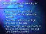 geologic history of washington state