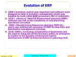 evolution of erp7