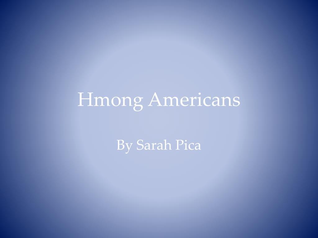 hmong americans l.