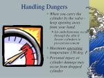 handling dangers