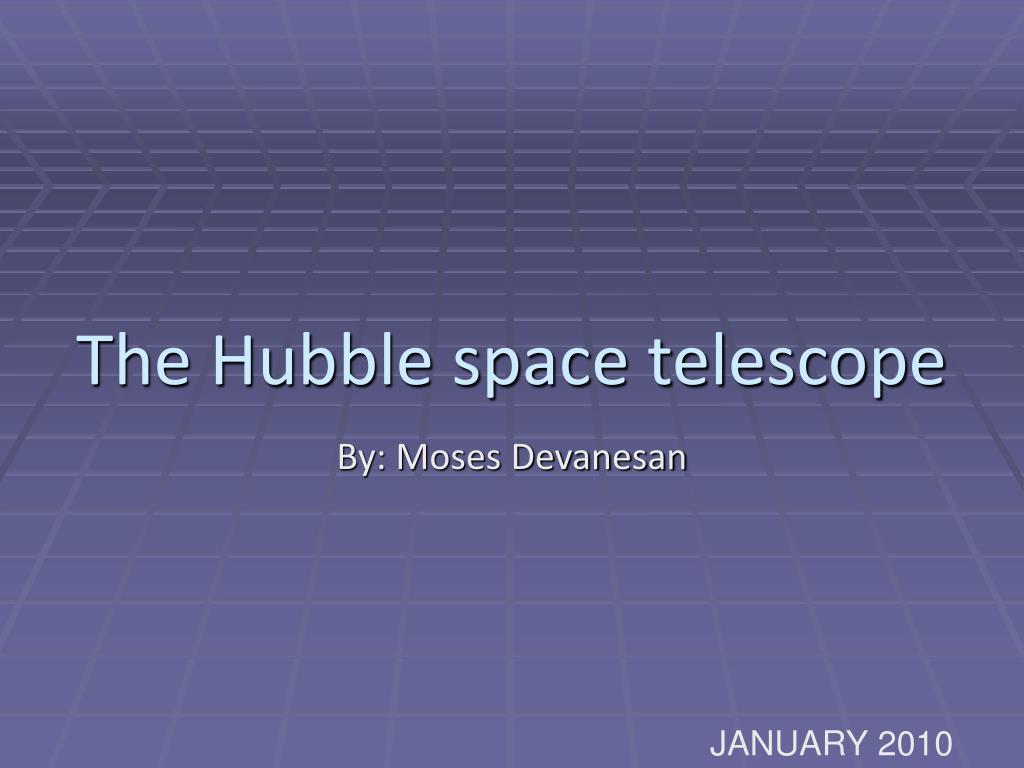 the hubble space telescope l.