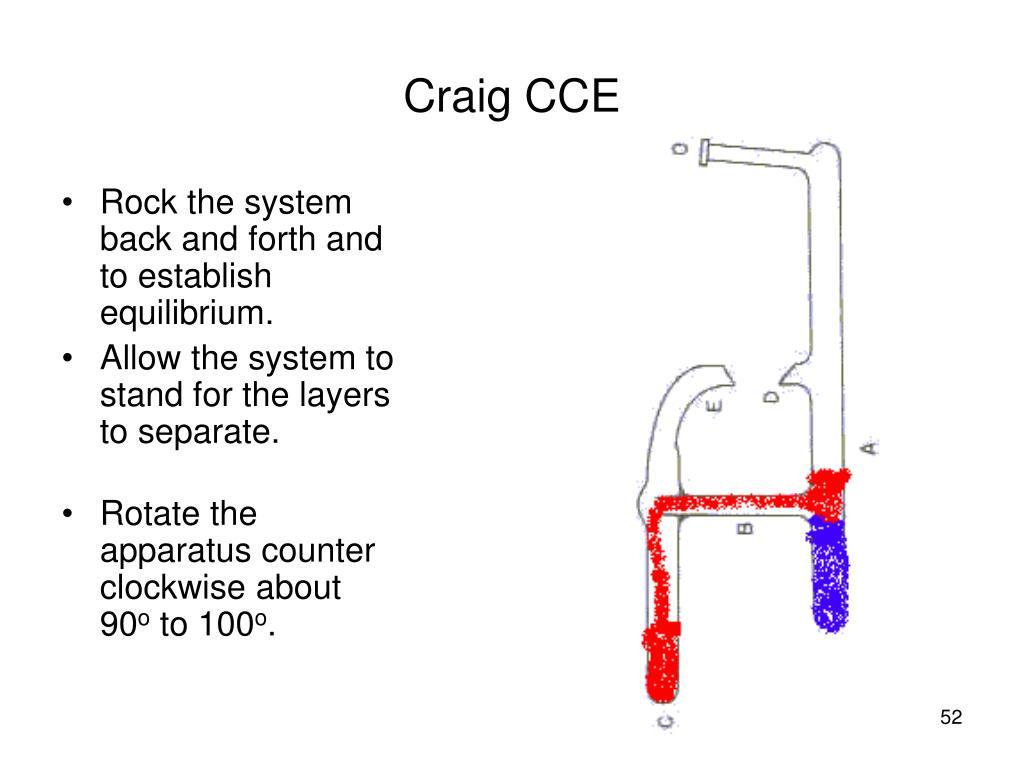 Craig CCE