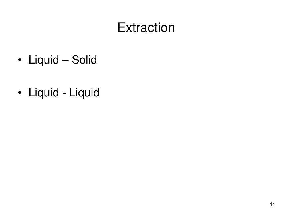 Liquid – Solid