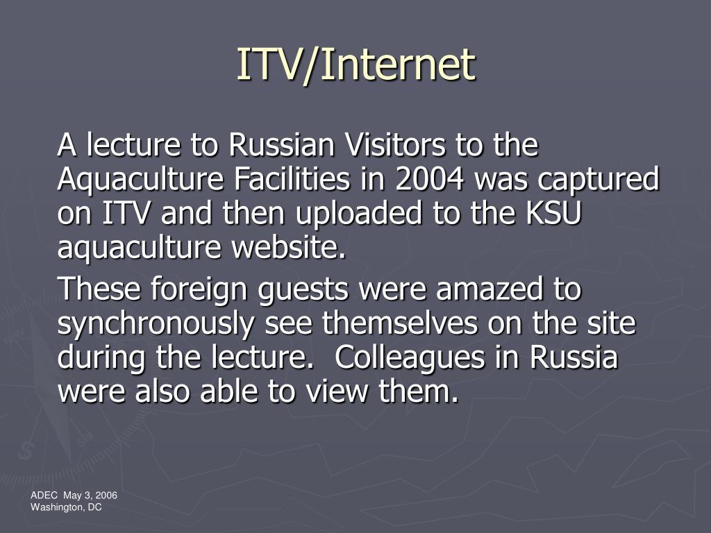 ITV/Internet