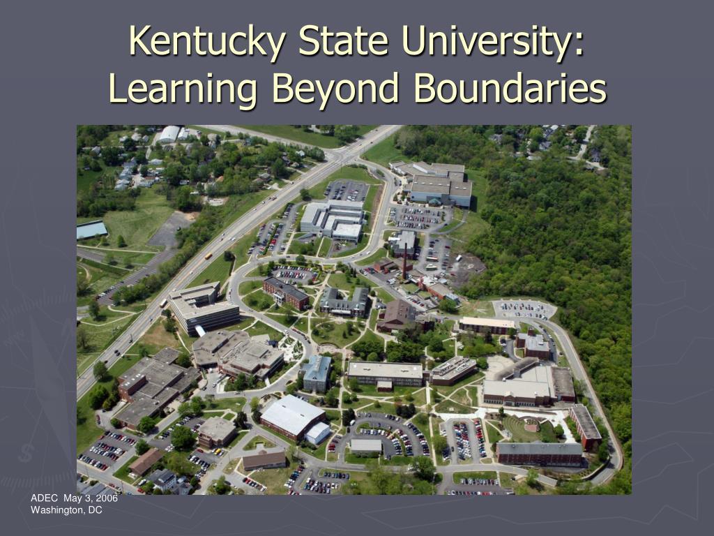Kentucky State University: