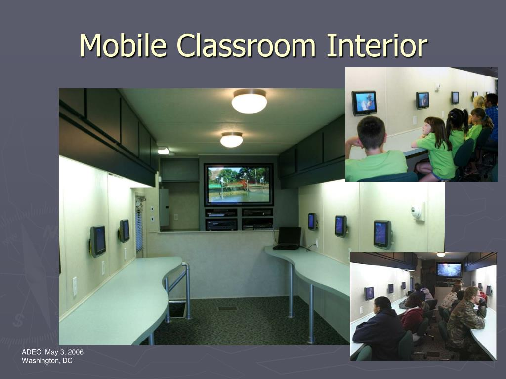 Mobile Classroom Interior