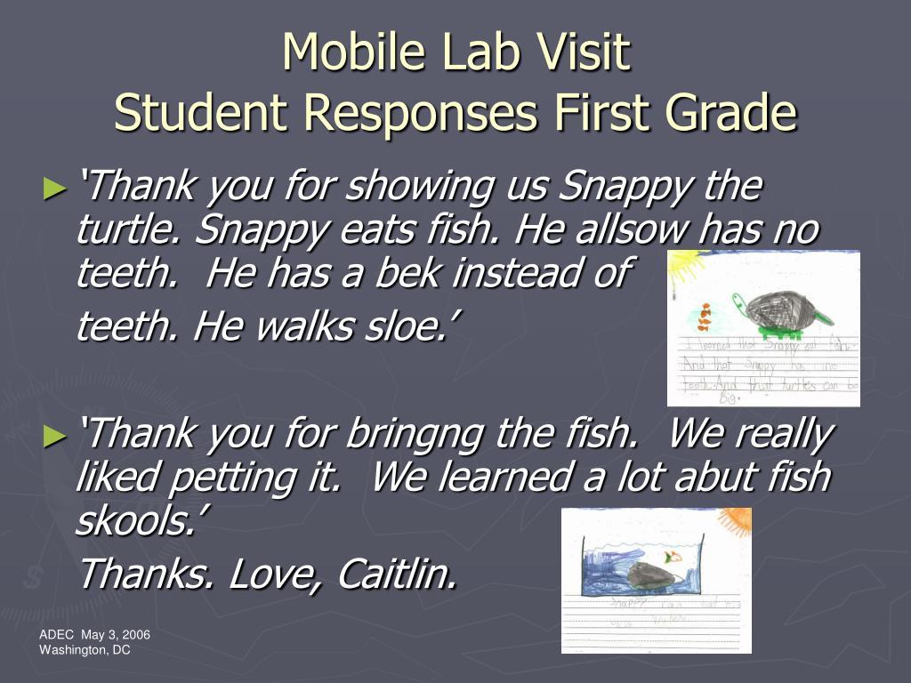 Mobile Lab Visit