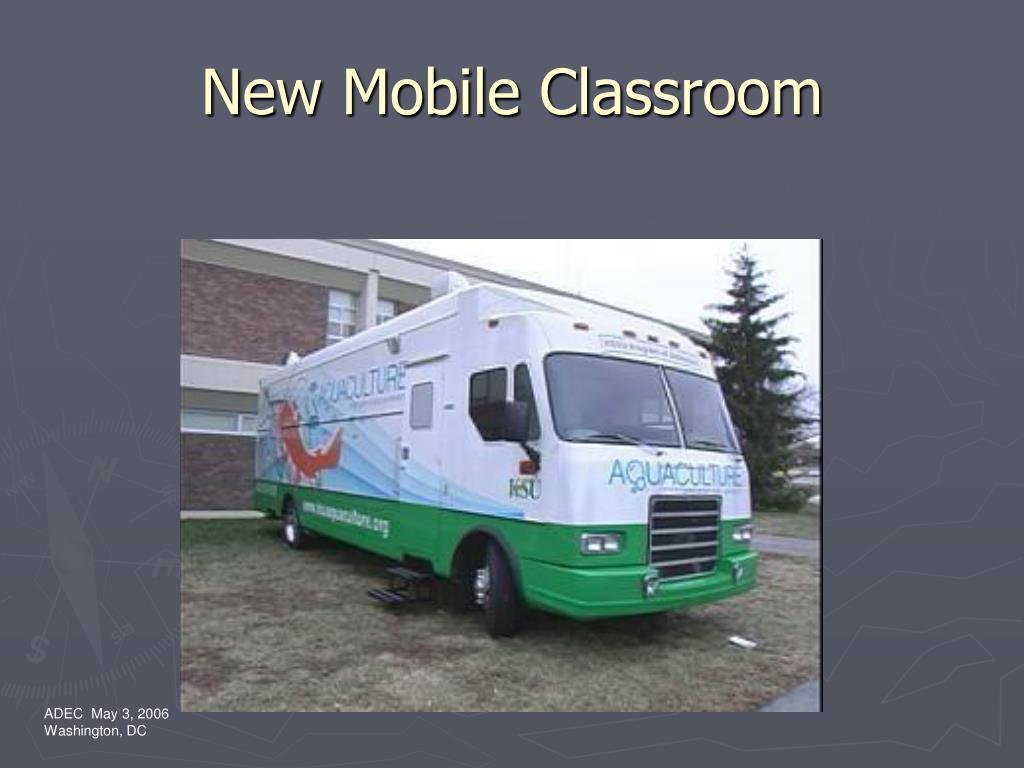New Mobile Classroom