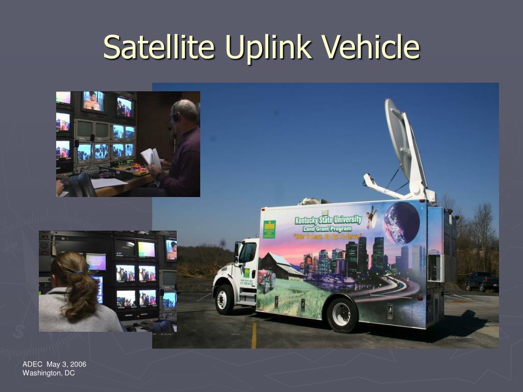 Satellite Uplink Vehicle