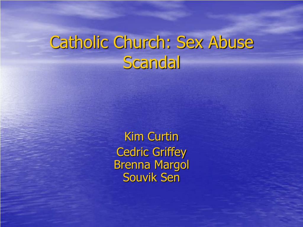 catholic church sex abuse scandal l.