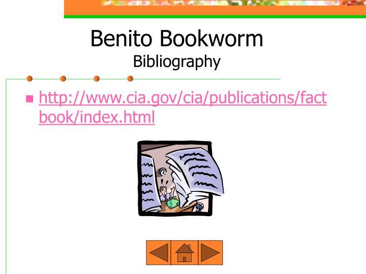 Benito Bookworm