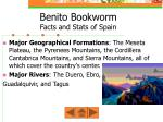 benito bookworm facts and stats of spain1