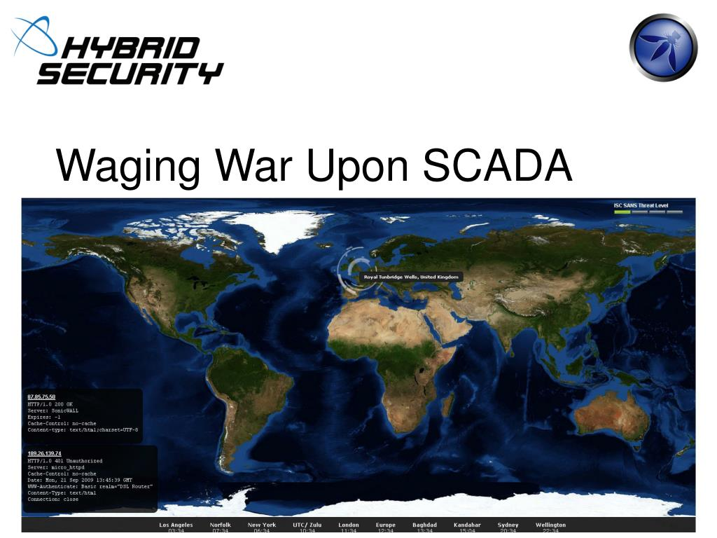 Waging War Upon SCADA
