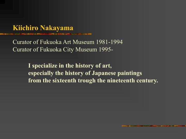 Kiichiro Nakayama