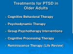 treatments for ptsd in older adults