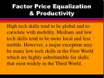 factor price equalization productivity11