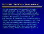 decisions decisions what procedure12