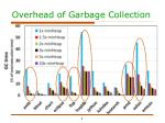 overhead of garbage collection