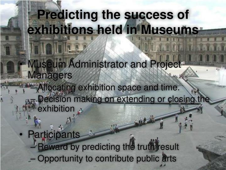 Museum Administrator and Project Managers