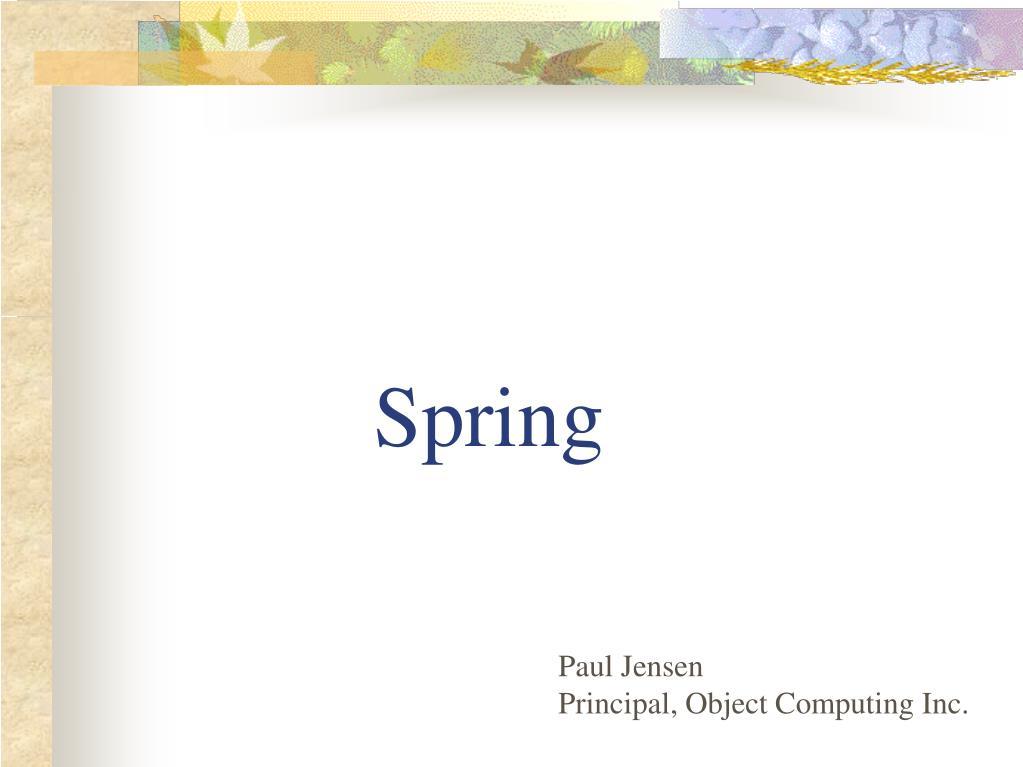 spring l.