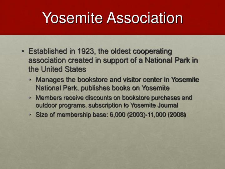Yosemite association