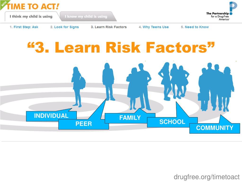 """""""3. Learn Risk Factors"""""""