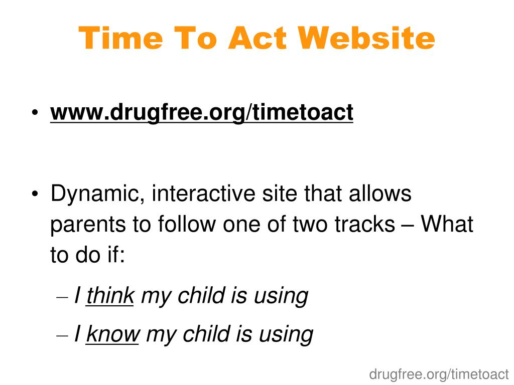 Time To Act Website
