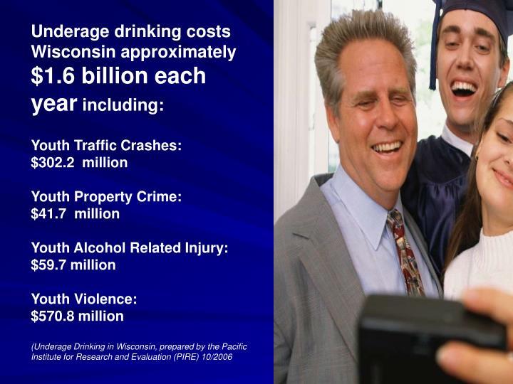 Underage drinking costs