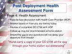 post deployment health assessment form31