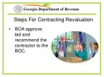 steps for contracting revaluation25