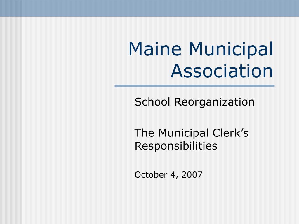 maine municipal association l.